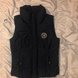 Navy Blue Abercrombie & Fitch Vest